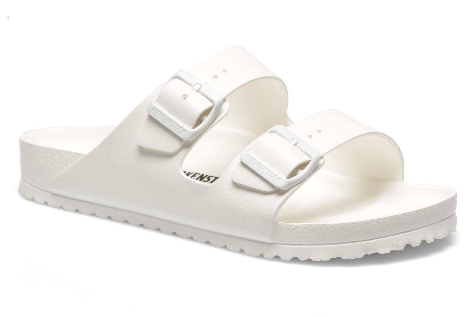 Sandales et nu-pieds Birkenstock Arizona EVA M Blanc vue détail/paire