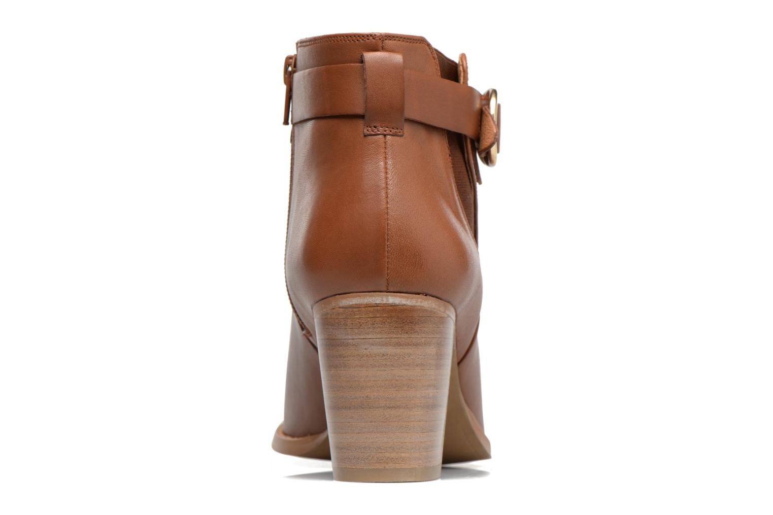 Ankle boots Georgia Rose Eperdrix Brown view from the right