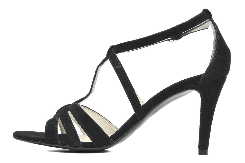 Sandalen Georgia Rose Epurée schwarz ansicht von vorne