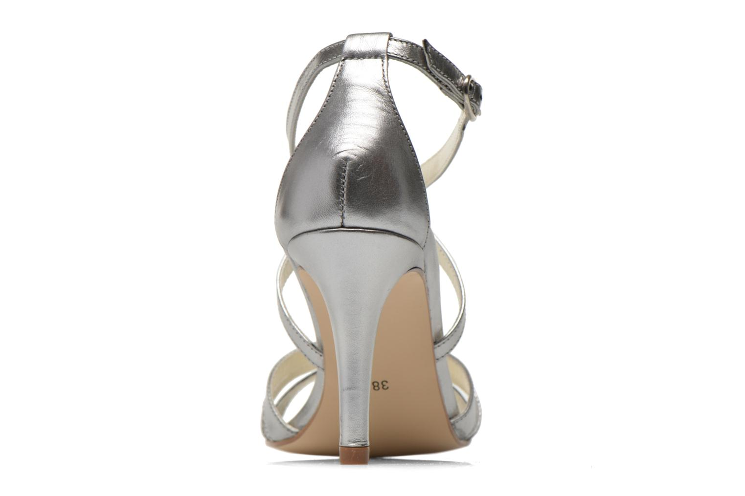 Sandals Georgia Rose Epurée Silver view from the right