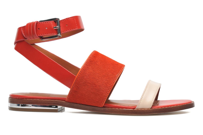 Sandales et nu-pieds Rebecca Minkoff Serena Orange vue derrière