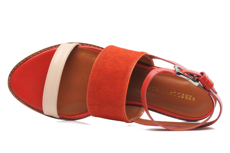 Serena Hot Orange/Blush 130