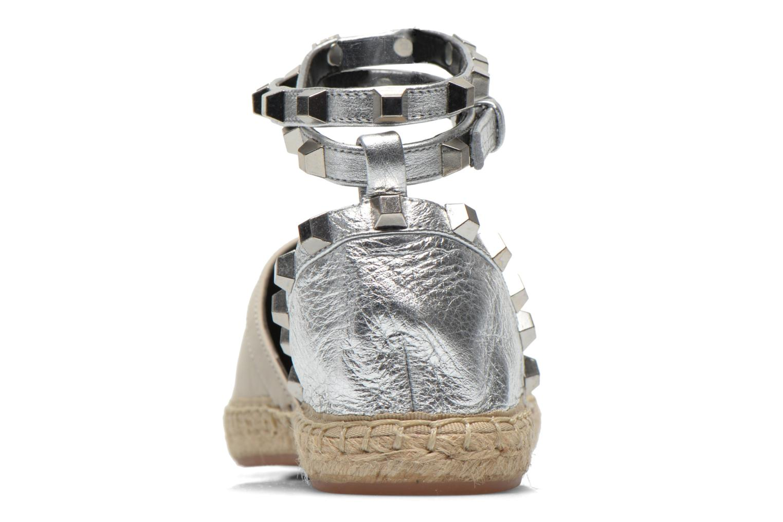 Gilles Stone Silver Metallic