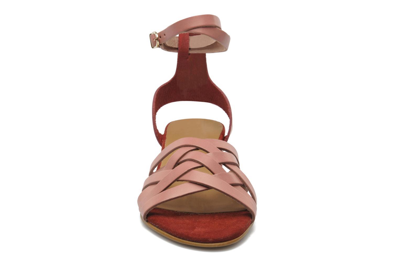 Sandales et nu-pieds Georgia Rose Labibiche Rose vue portées chaussures