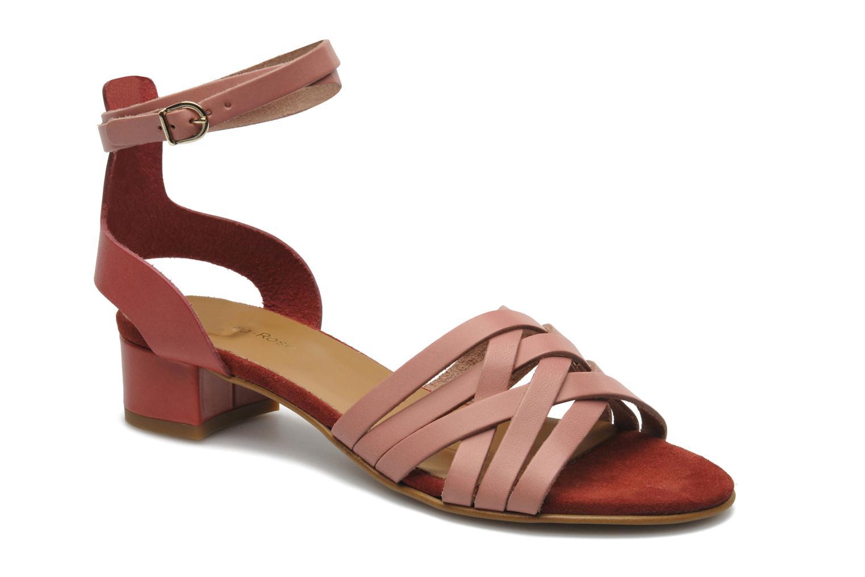 Sandales et nu-pieds Georgia Rose Labibiche Rose vue détail/paire