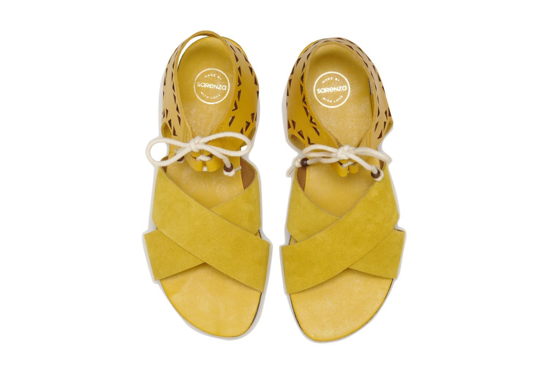 Sandales et nu-pieds Made by SARENZA Nairobi #2 Jaune vue portées chaussures