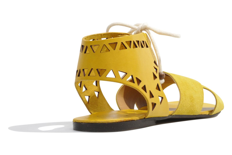 Sandales et nu-pieds Made by SARENZA Nairobi #2 Jaune vue face