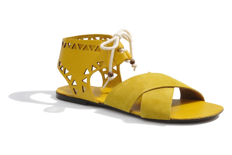 Sandales et nu-pieds Made by SARENZA Nairobi #2 Jaune vue droite