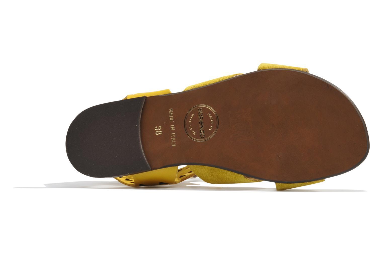 Sandales et nu-pieds Made by SARENZA Nairobi #2 Jaune vue gauche