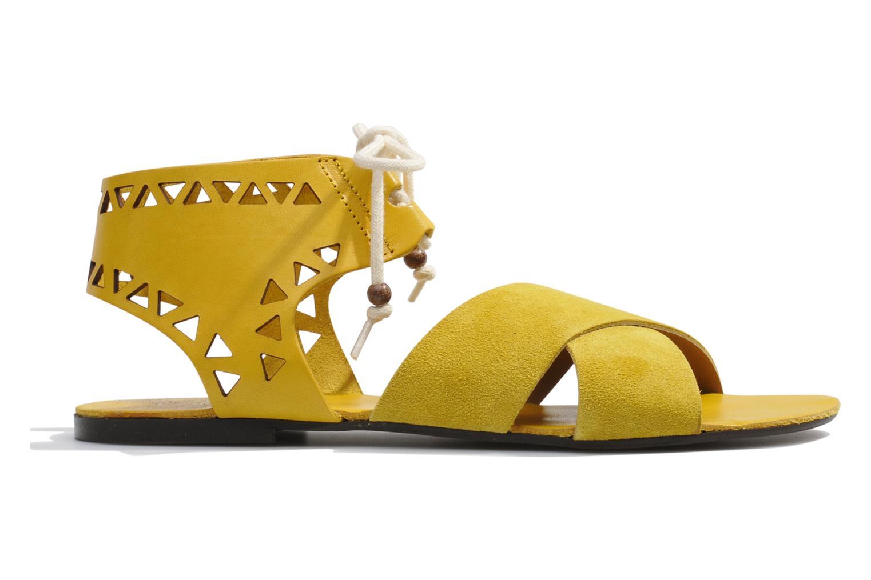 Sandales et nu-pieds Made by SARENZA Nairobi #2 Jaune vue détail/paire