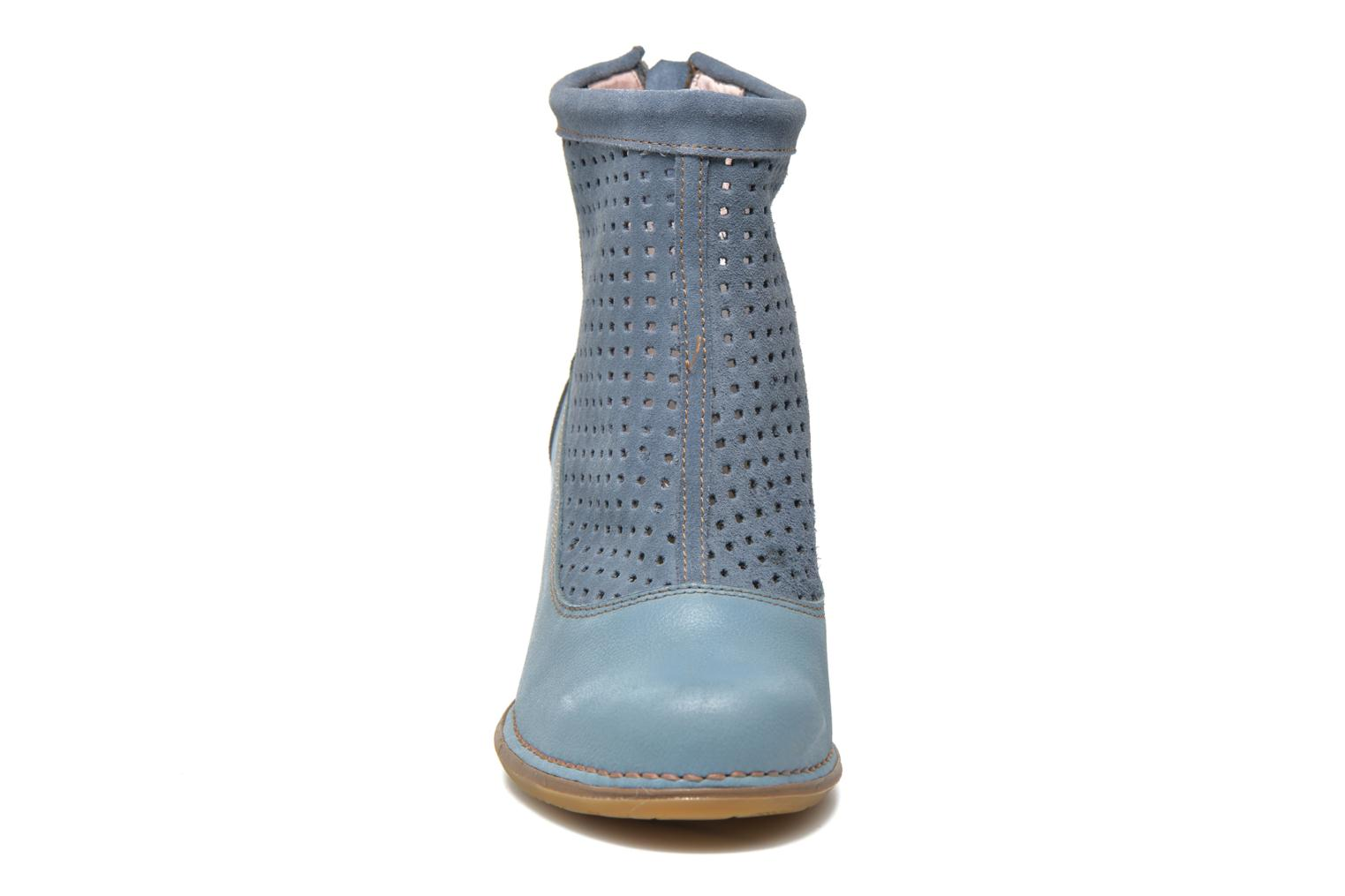 Ankle boots El Naturalista Colibri N467 Blue model view