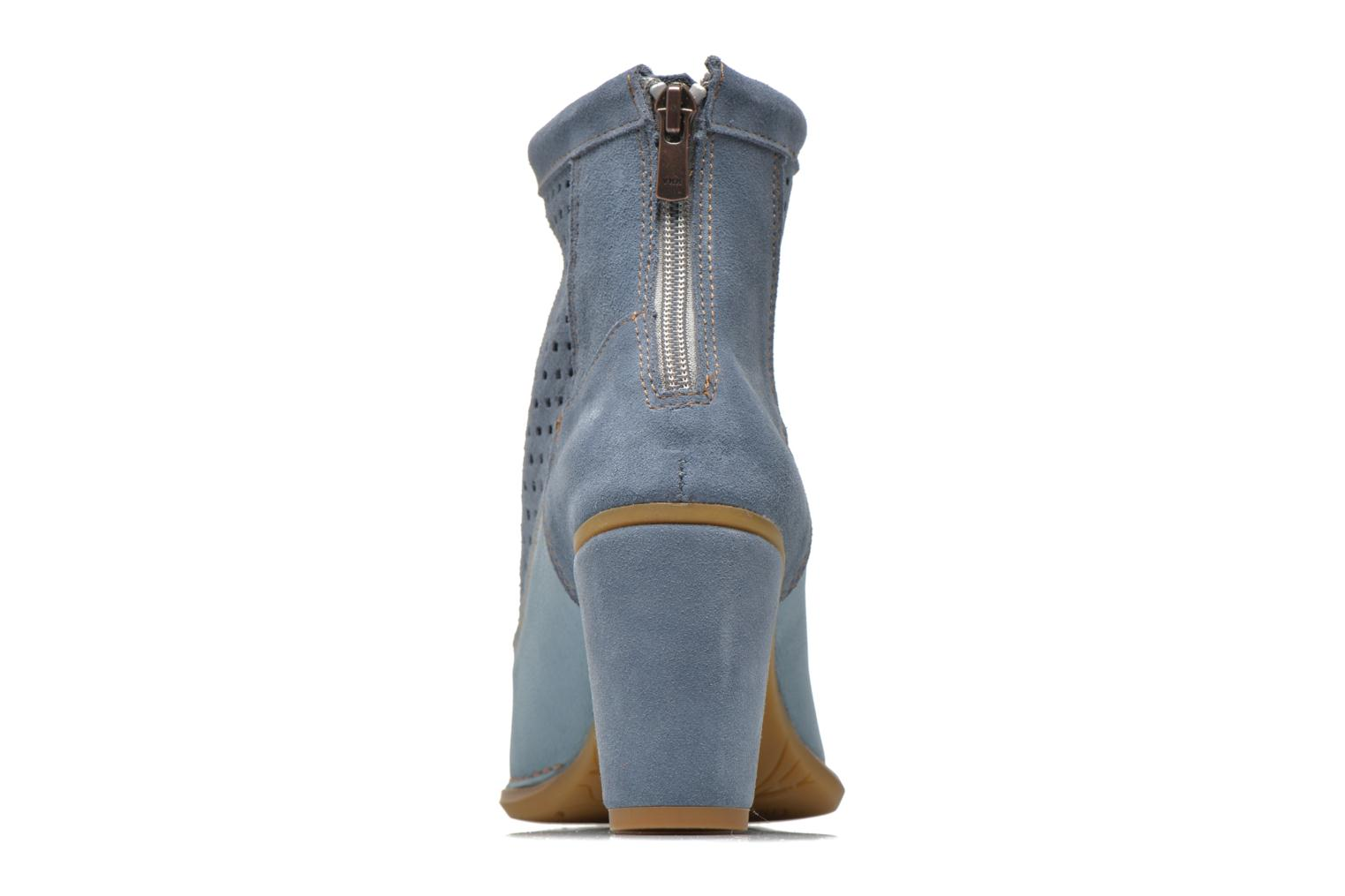 Ankle boots El Naturalista Colibri N467 Blue view from the right