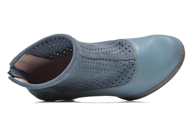 Bottines et boots El Naturalista Colibri N467 Bleu vue gauche