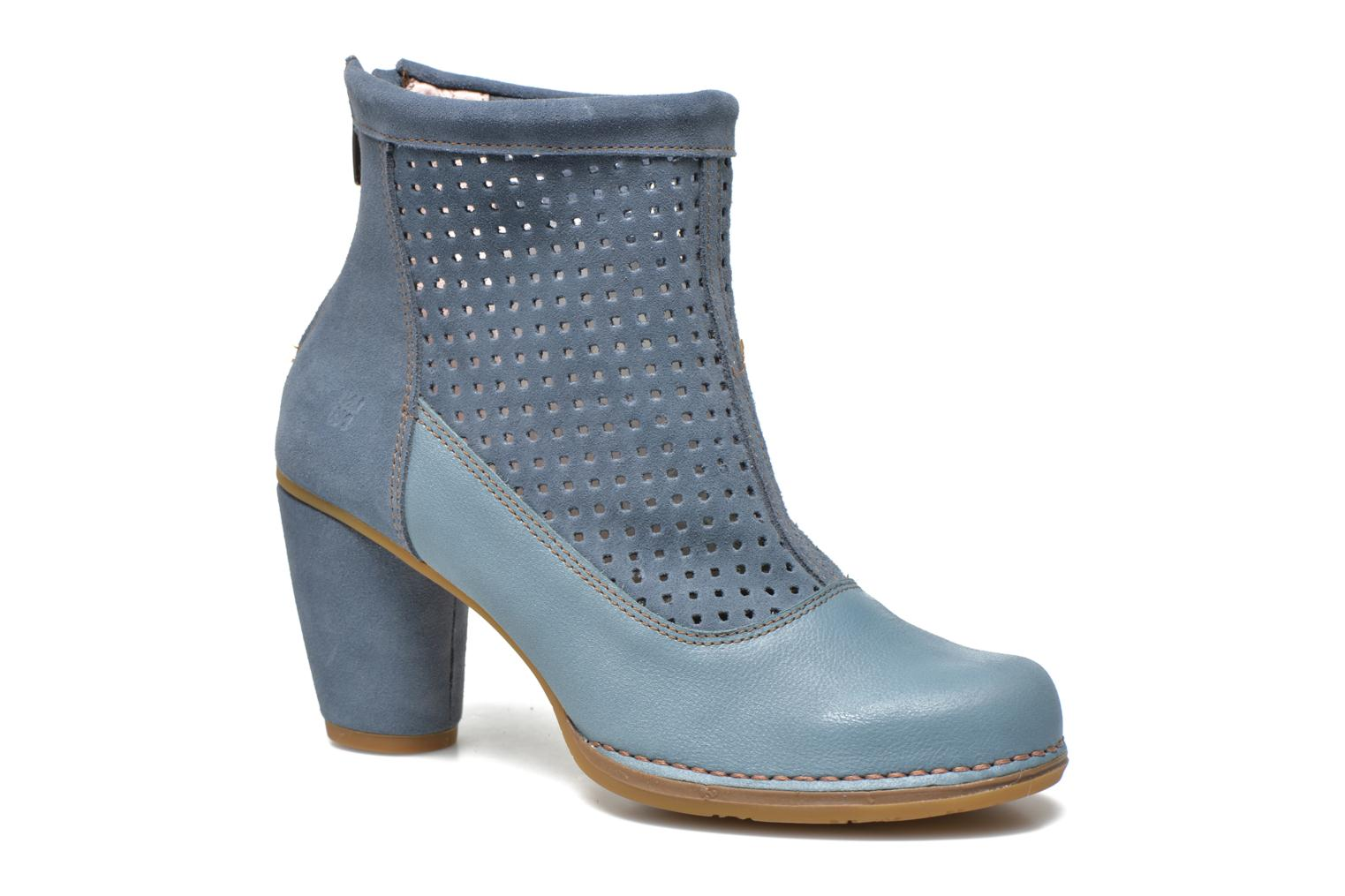 Ankle boots El Naturalista Colibri N467 Blue detailed view/ Pair view