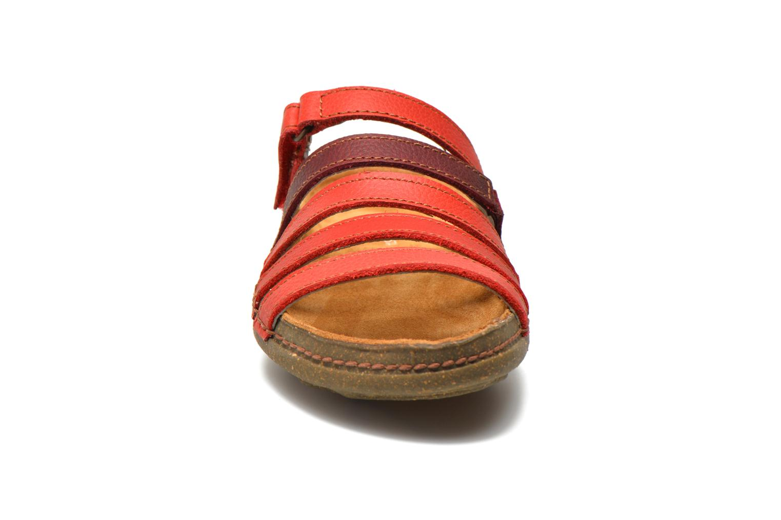 Mules & clogs El Naturalista Torcal N327 Red model view