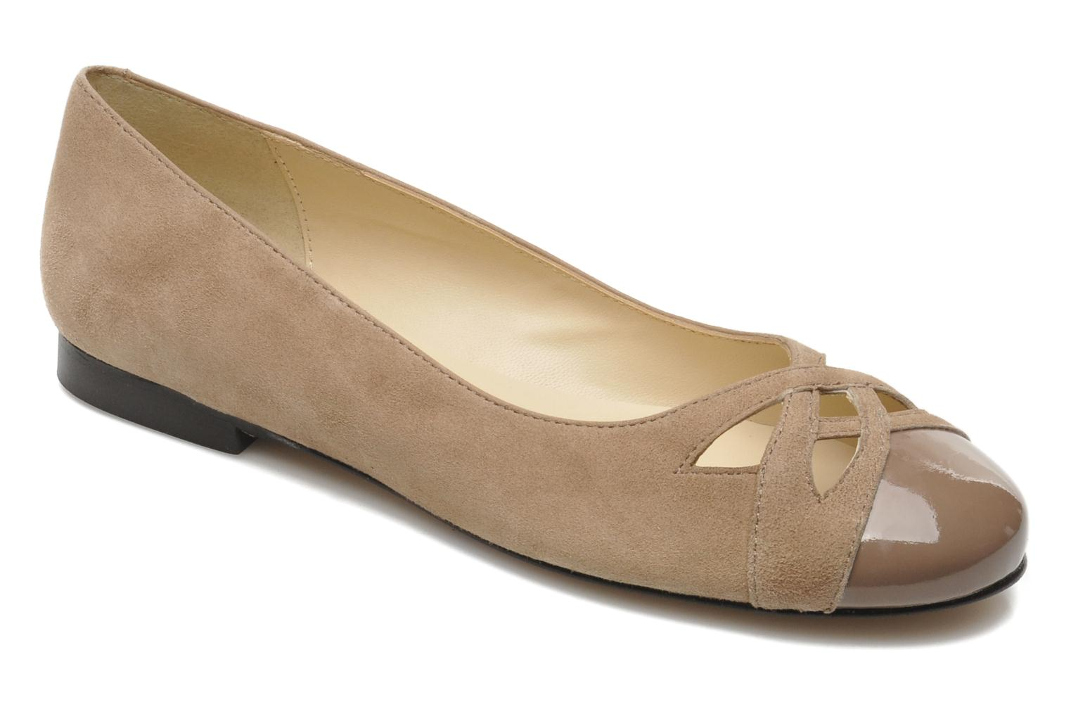 Marques Chaussure femme Georgia Rose femme Savat Ante Taupe II/charol Canela