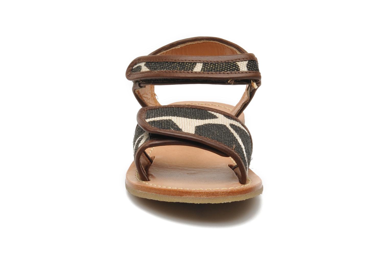 Sandales et nu-pieds Mellow Yellow Mini Safro Multicolore vue portées chaussures