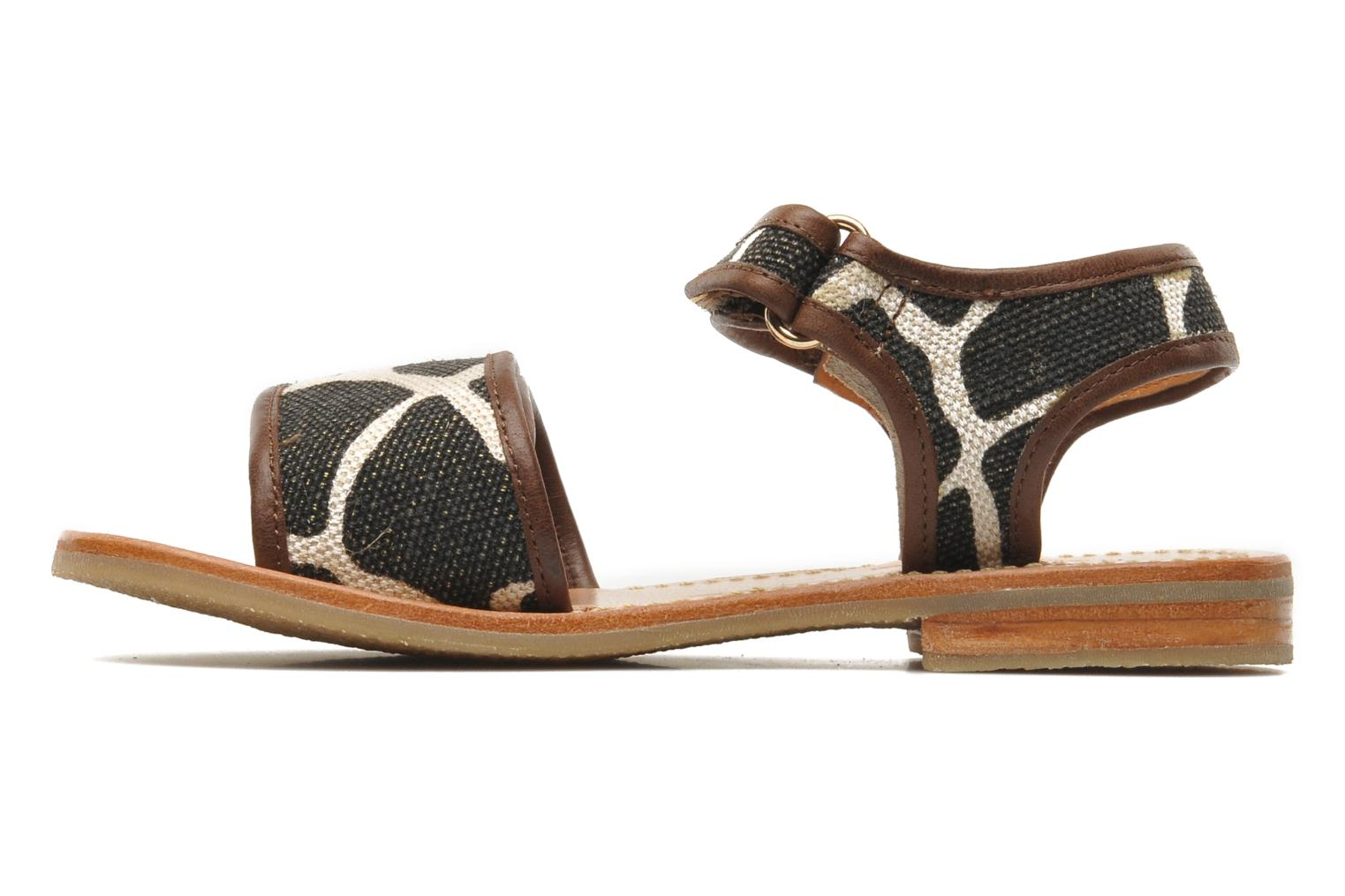 Sandals Mellow Yellow Mini Safro Multicolor front view