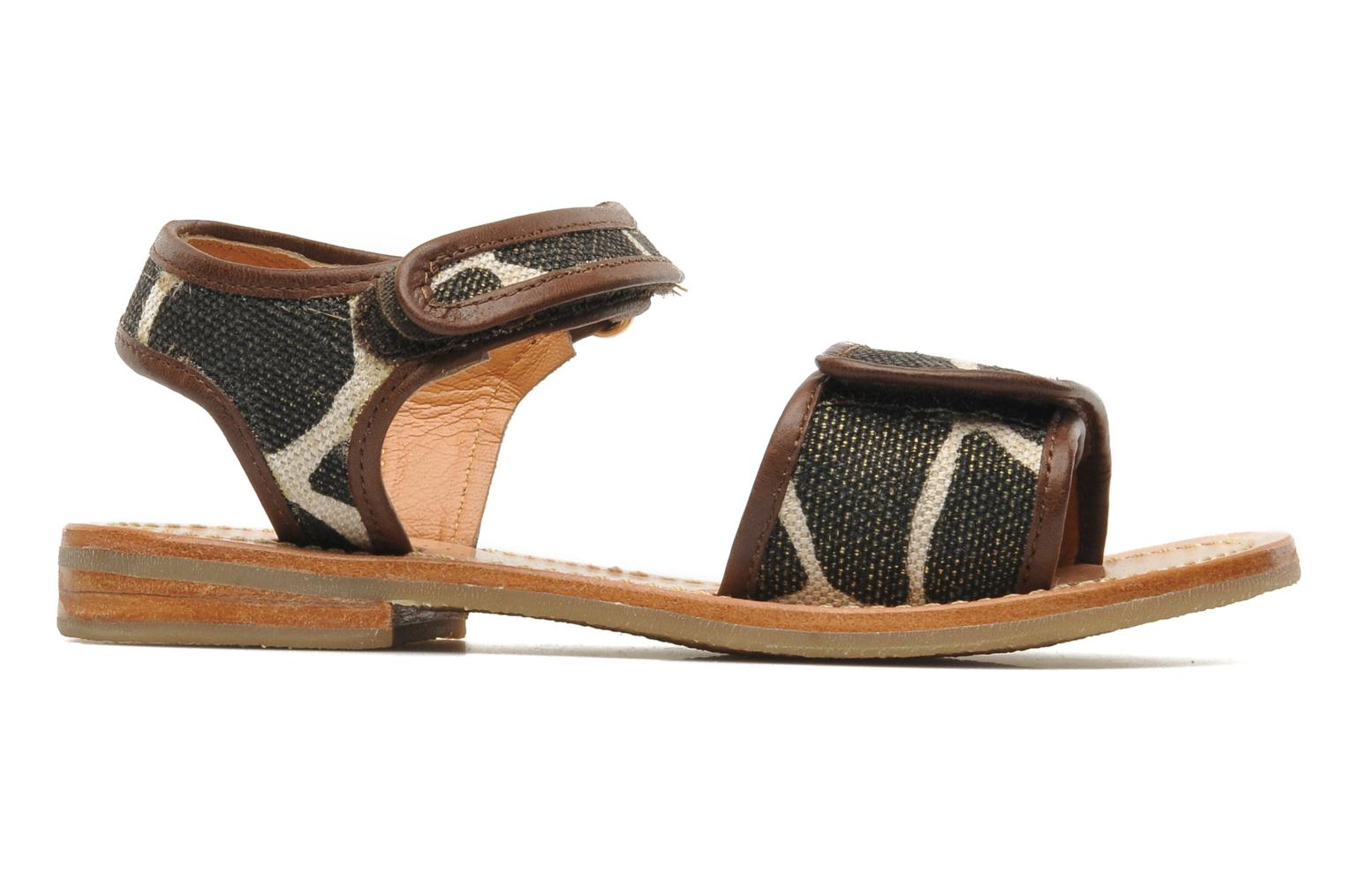 Sandals Mellow Yellow Mini Safro Multicolor back view