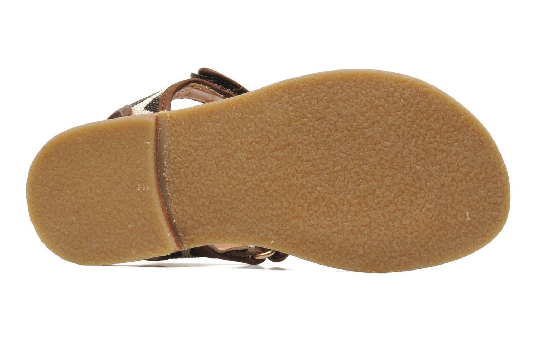 Sandales et nu-pieds Mellow Yellow Mini Safro Multicolore vue haut