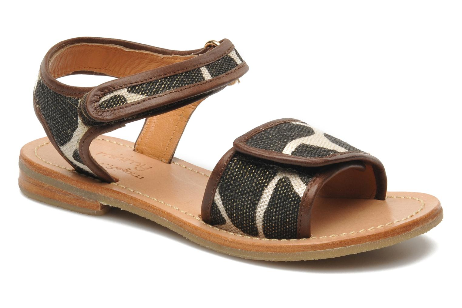 Sandals Mellow Yellow Mini Safro Multicolor detailed view/ Pair view