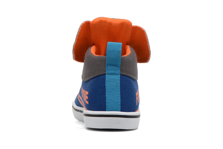 Sneakers Feiyue Delta Mid Animal Grijs rechts
