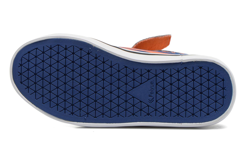 Sneakers Feiyue Delta Mid Animal Grijs boven