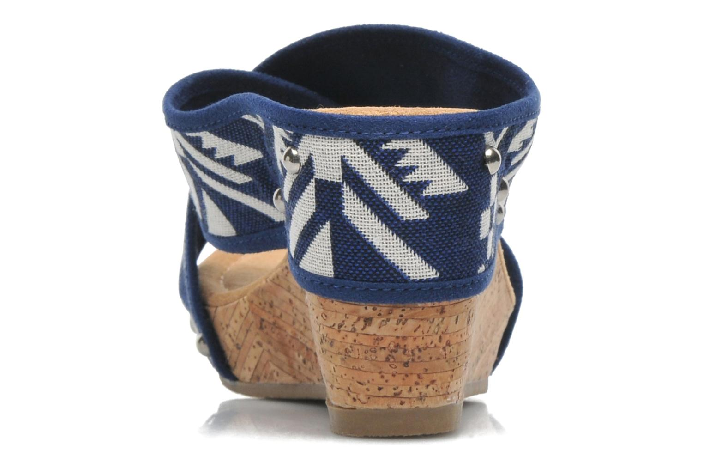 Sandales et nu-pieds Minnetonka Lainey Bleu vue droite