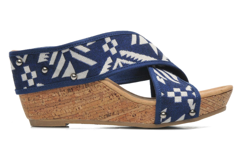 Sandales et nu-pieds Minnetonka Lainey Bleu vue derrière