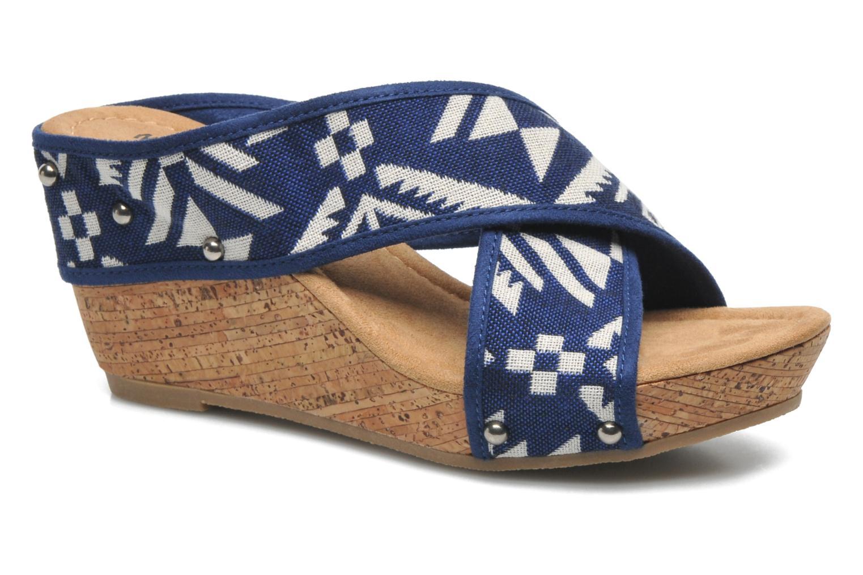 Sandales et nu-pieds Minnetonka Lainey Bleu vue détail/paire