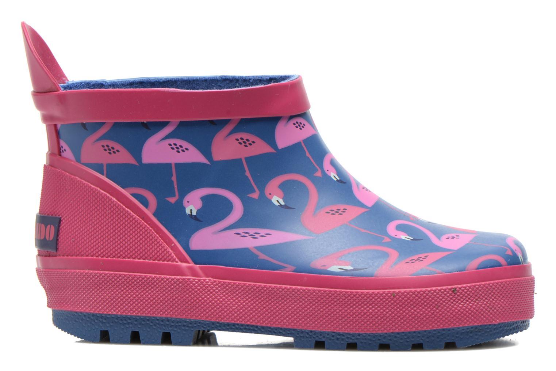 Pantofole Poco Nido FLAMINGO Azzurro immagine posteriore
