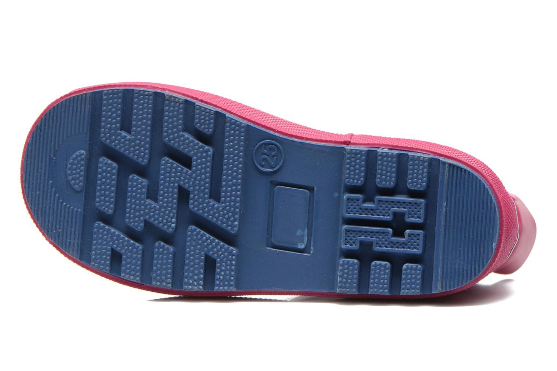 Pantofole Poco Nido FLAMINGO Azzurro immagine dall'alto