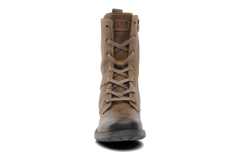 Bottes P-L-D-M By Palladium Cassy Clp Marron vue portées chaussures