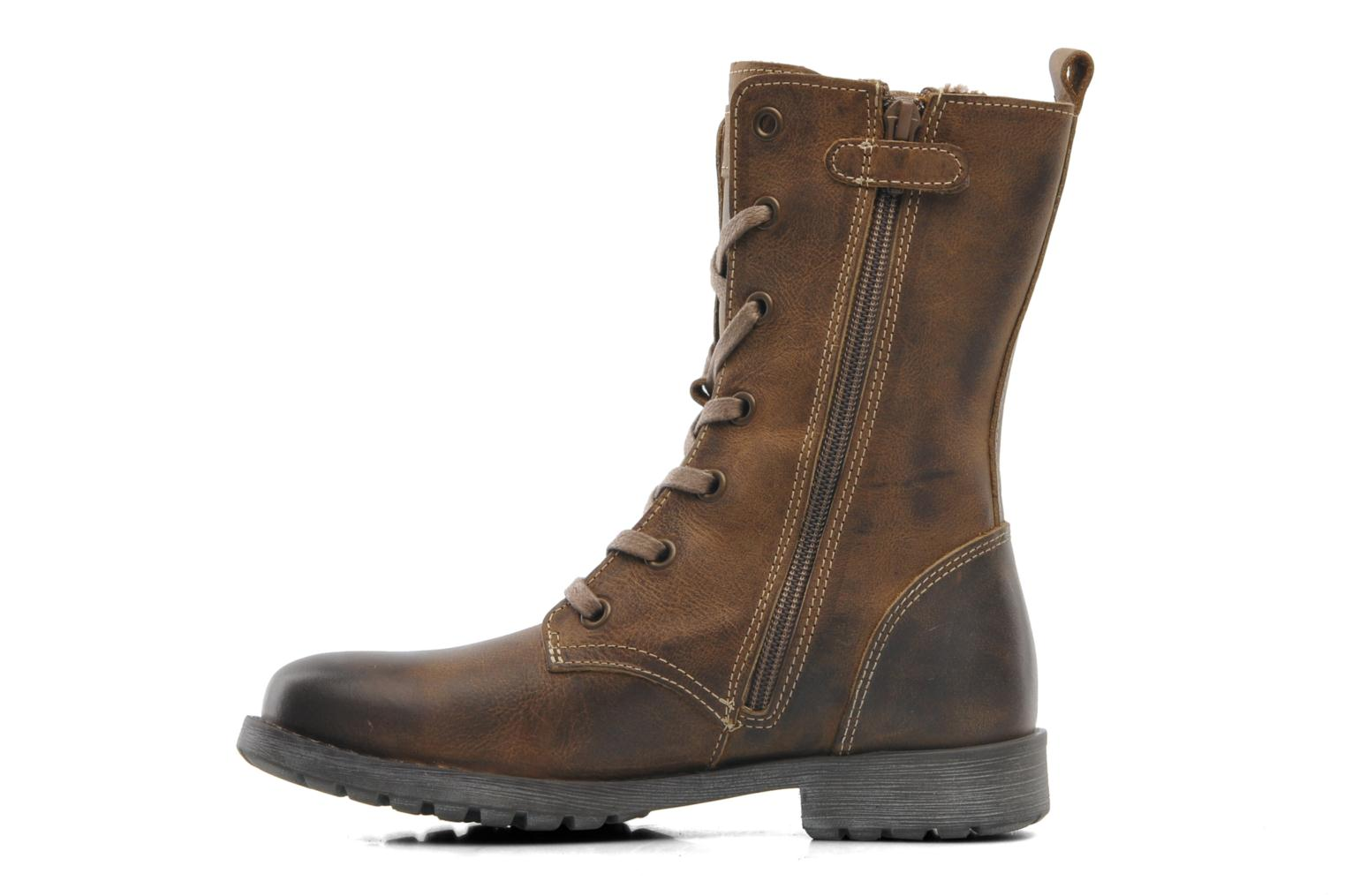 Bottes P-L-D-M By Palladium Cassy Clp Marron vue face