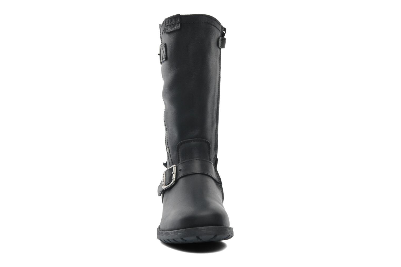 Bottes P-L-D-M By Palladium Cony Clp Noir vue portées chaussures