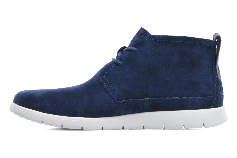 Chaussures à lacets UGG Freamon Bleu vue face
