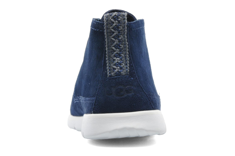 Chaussures à lacets UGG Freamon Bleu vue droite