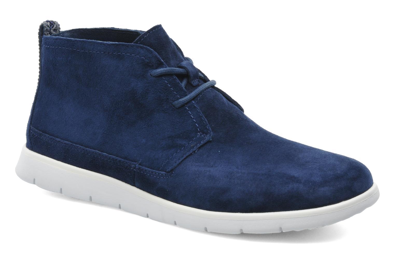 Chaussures à lacets UGG Freamon Bleu vue détail/paire