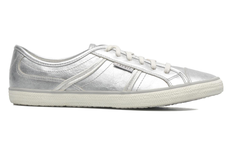 Sneakers Esprit Megan Metallic 036 Zilver achterkant