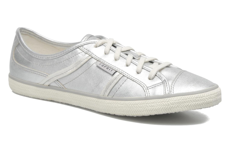 Sneakers Esprit Megan Metallic 036 Zilver detail