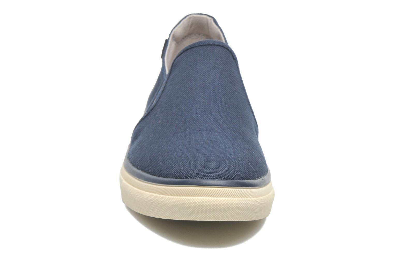 Baskets Esprit Yendis slip on 040 Bleu vue portées chaussures