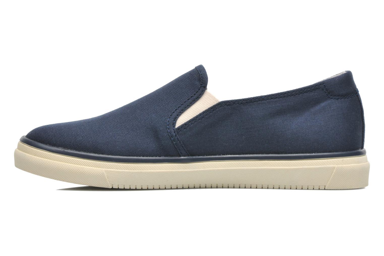 Sneakers Esprit Yendis slip on 040 Blauw voorkant