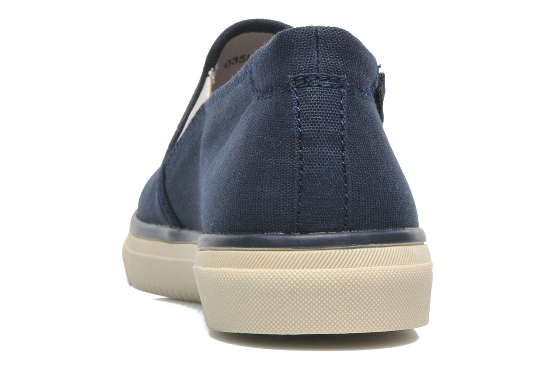 Sneakers Esprit Yendis slip on 040 Blauw rechts