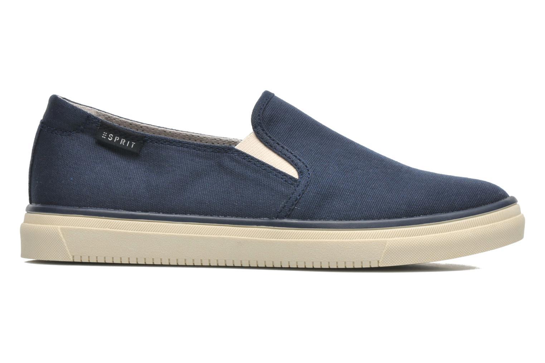 Sneakers Esprit Yendis slip on 040 Blauw achterkant