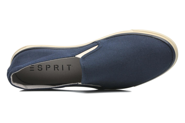 Sneakers Esprit Yendis slip on 040 Blauw links