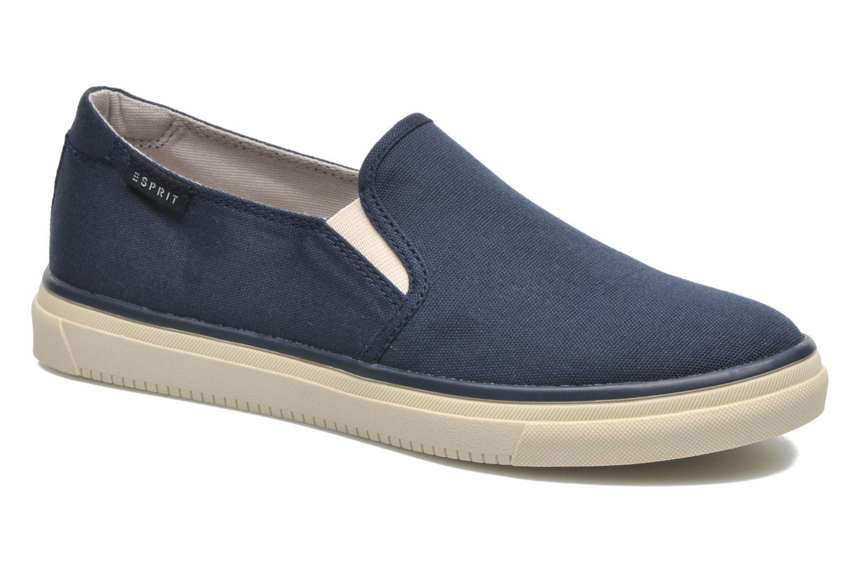 Sneakers Esprit Yendis slip on 040 Blauw detail
