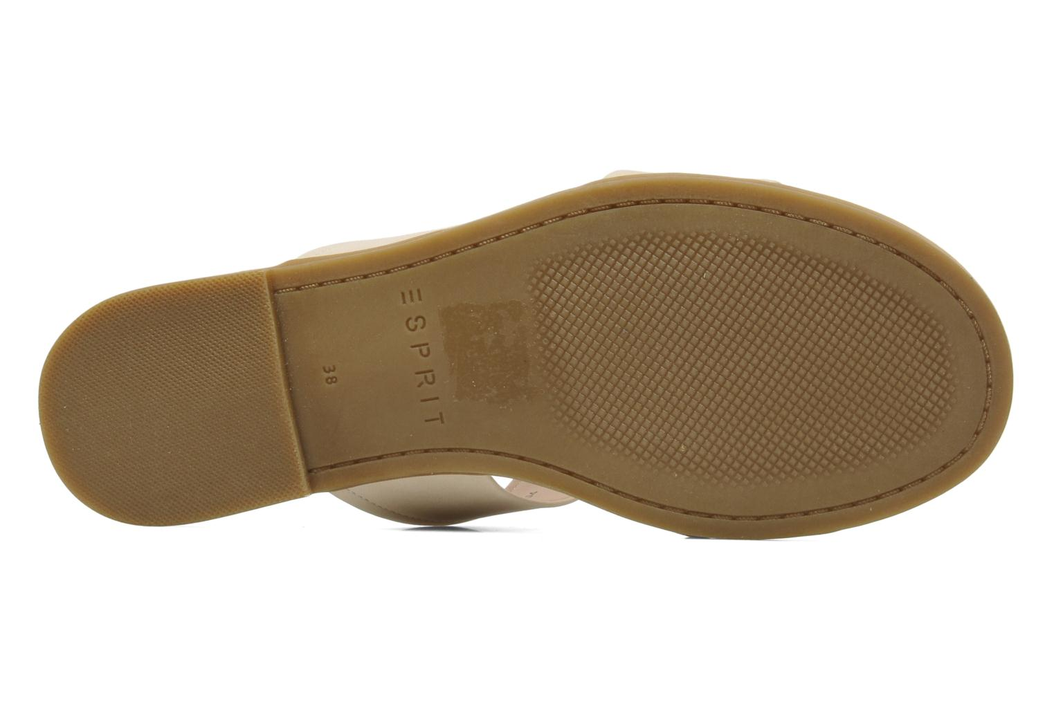 Mules & clogs Esprit Swami 2 band 004 Beige view from above