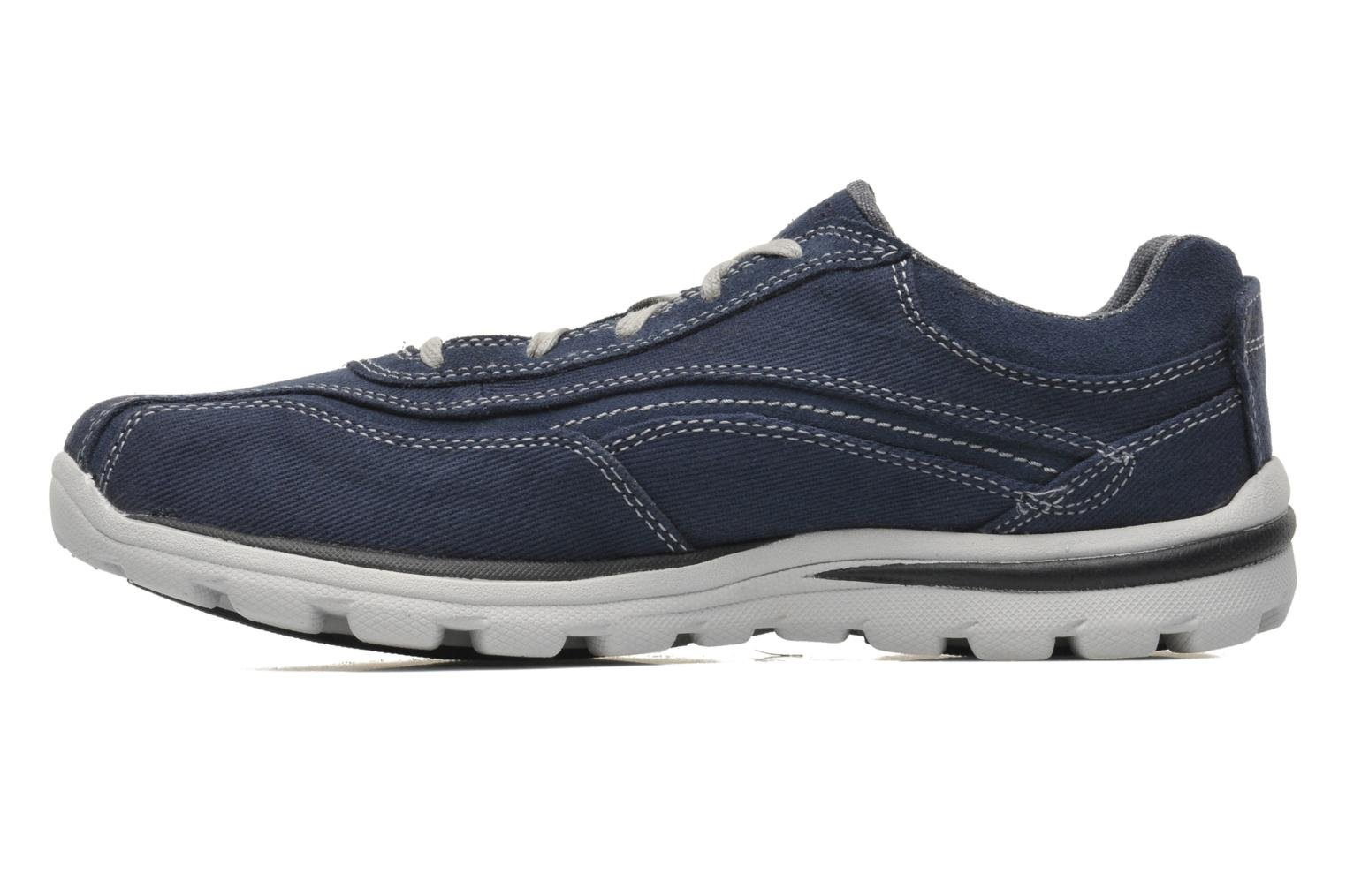 Baskets Skechers Superior Monavo 64362 Bleu vue face