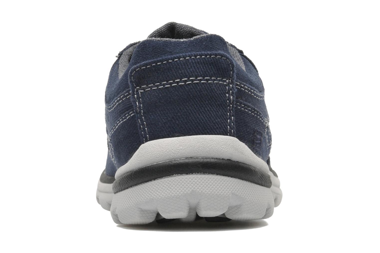 Sneaker Skechers Superior Monavo 64362 blau ansicht von rechts