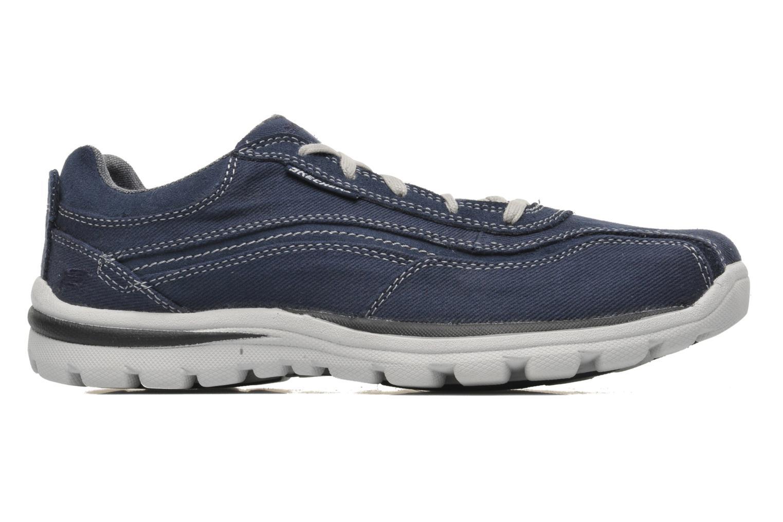 Sneaker Skechers Superior Monavo 64362 blau ansicht von hinten